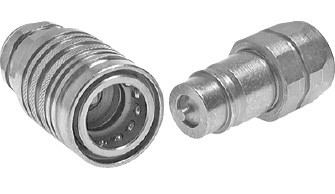 Hydraulic couplings for agricultural and construction machinery, ISO 7241-1 A